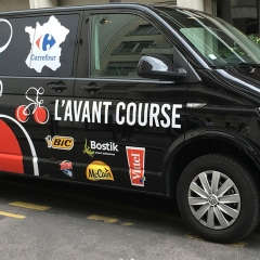 Roadshow Carrefour Avant-Course